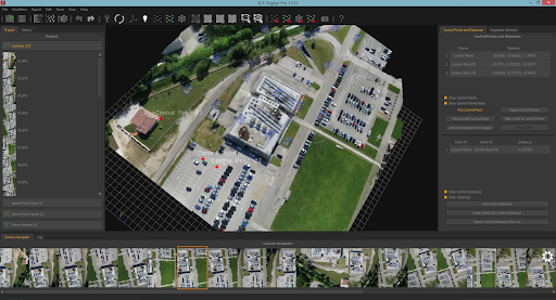 3DF Zephyr is a photogrammetry software which allows you to make 3d models from pictures.