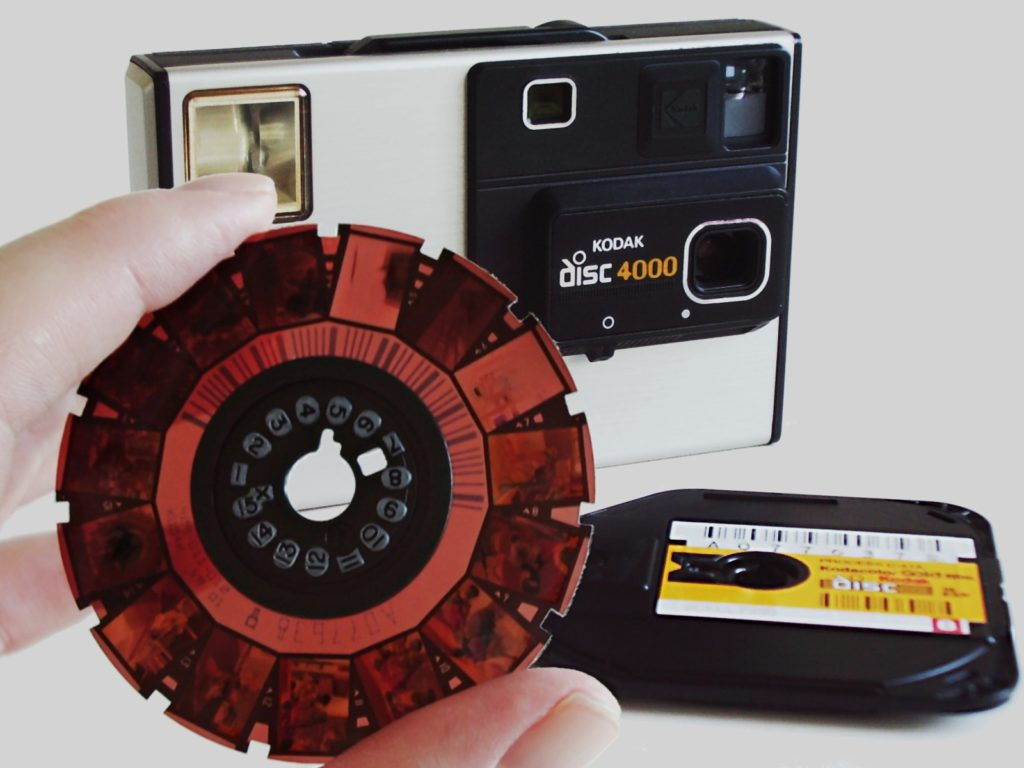 Mosaic CEO Jeffrey Martin's first camera was a Kodak disc camera.