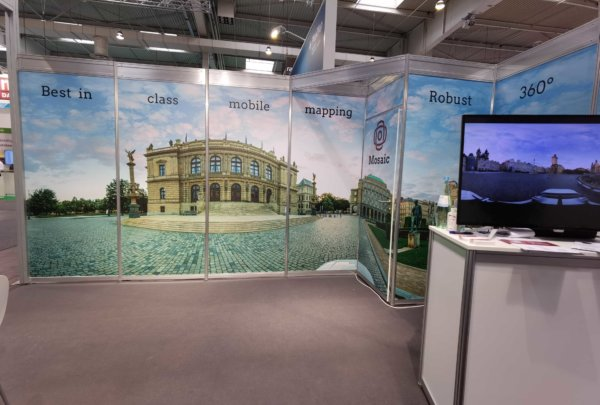 Mosaic at InterGeo 2021, Hannover, Germany, geospatial trade show and conference