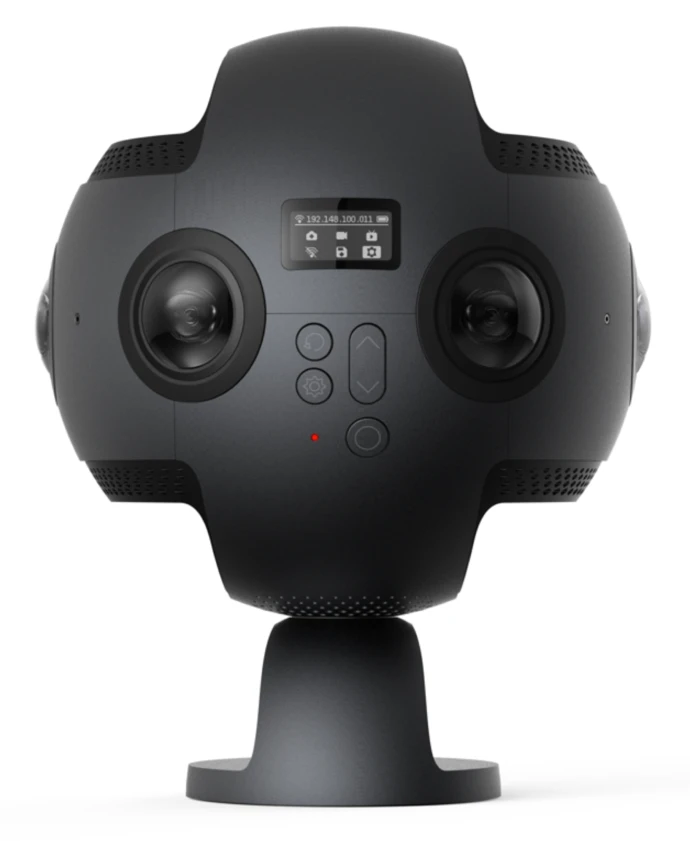 Insta360 is a top contendor in the 360 mobile mapping field, particularly used in VR.