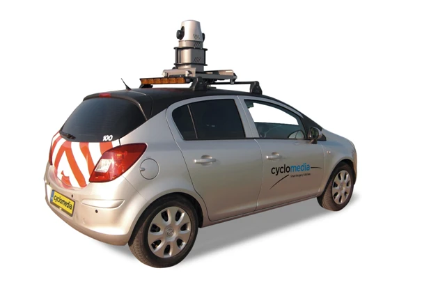Cyclomedia is one of the top companies offering 360 mobile mapping services with their own fleet of cars equipped with onboard cameras.