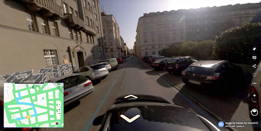 An example of the Mosaic 51 360 camera, as seen on Mapillary, perfect to help with the American Jobs Plan.