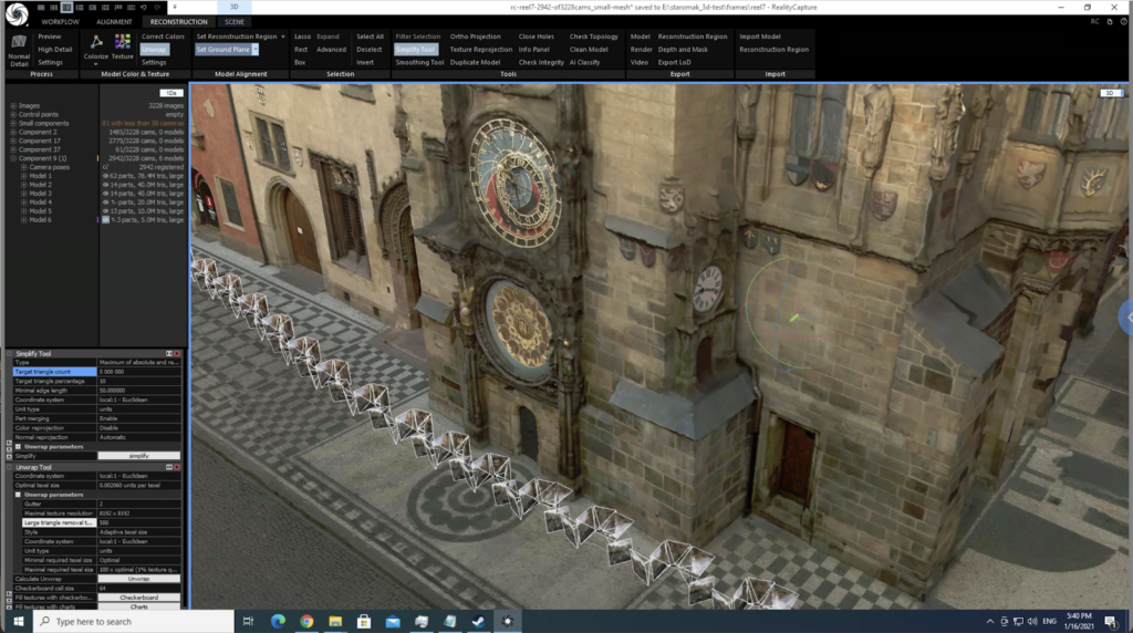 An image by Jeffrey Martin of Prague's Old Town Square made in Reality Capture, a photogrammetry software.