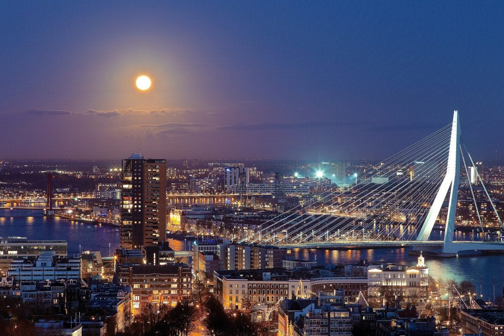 Rotterdam is one of the smartest cities in the world.